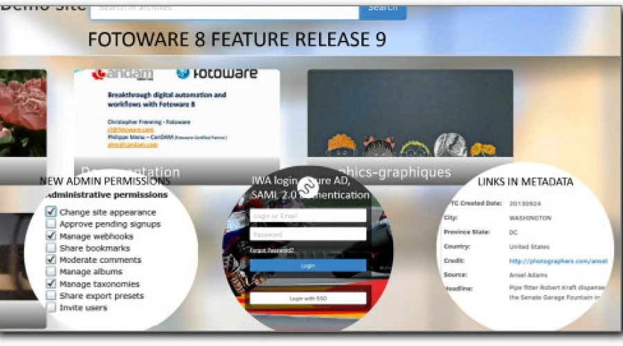 Fotoweb 8 Feature release 9 is out!